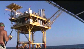Deep Sea Oil Rig