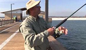 Kevo Pier Fishing